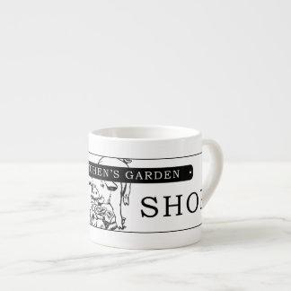 La tasse de café de café express de magasin de