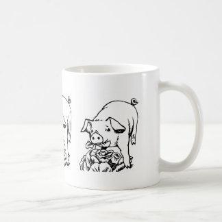 La tasse de café de magasin de ferme de potager