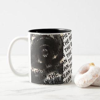 La tasse de café d'haricot