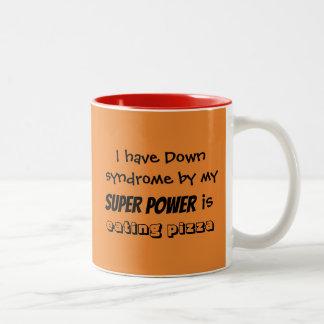 """La tasse de café """"mon super pouvoir mange de la"""