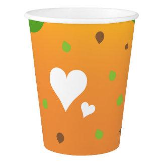 La tasse de papier de cool superbe et de gobelets en papier