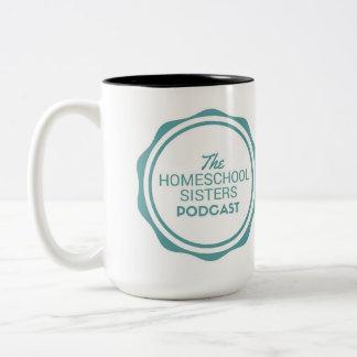 La tasse de Podcast de soeurs de Homeschool