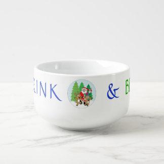 """La tasse de porcelaine personnalisent """"Noël PÈRE"""