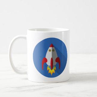 La tasse de vaisseau spatial