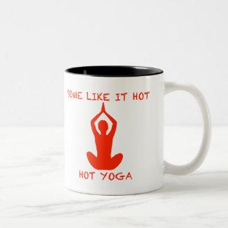 La tasse de yoga certains l'aiment chaud