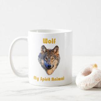 La tasse d'esprit de loup/loup attaque/cadeau