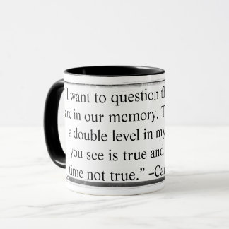 La tasse I veulent remettre en cause la citation