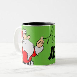 La tasse personnalisée par HoHoHo de Père Noël