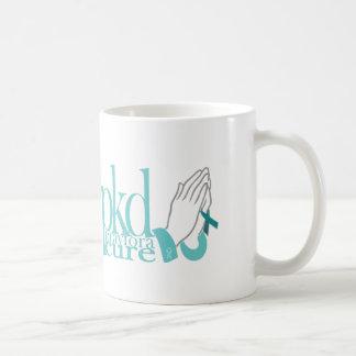 La tasse PKD prient pour un traitement