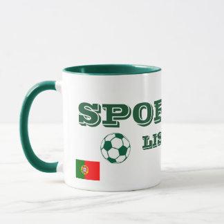 La tasse sportive/Caneca font le sport