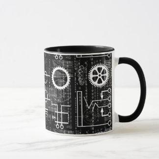 La technologie de vitesses en abondance a inspiré mug