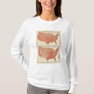 La température d'annuaire moyen, croquis t-shirt