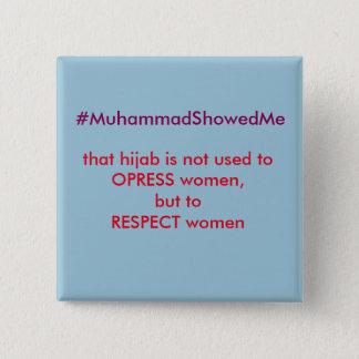 La tempête Muhammmad de Hashtag de gazouillement Pin's