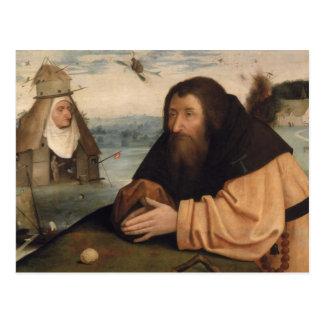 La tentation de St Anthony 2 Carte Postale