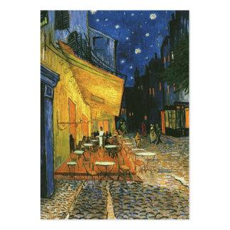la terrasse de café sur l'endroit du forum, Arles… Carte De Visite Grand Format