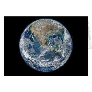 La terre bleue cartes de vœux