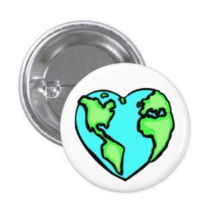 La terre de coeur badges