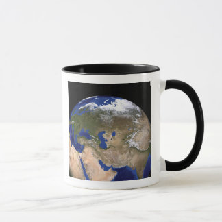 La terre de marbre bleue de prochaine génération mug