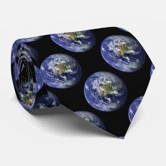 La terre de notre planète cravates