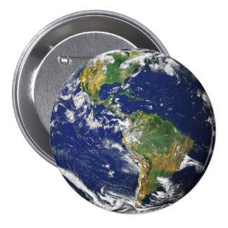 La terre de planète badges