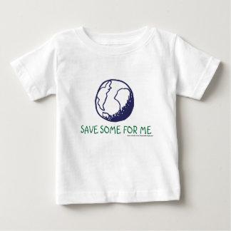 La terre : En épargnez pour moi T-shirt Pour Bébé