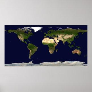 La terre par jour posters