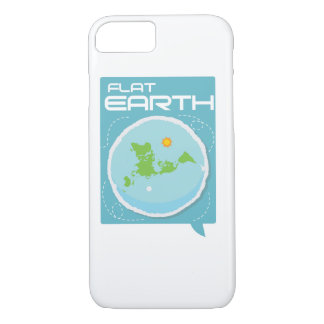 La terre plate -- iPhone carré moderne Coque iPhone 7