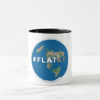 La terre plate plate du #flataf | de la tasse de