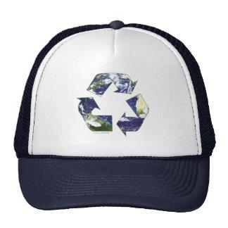 La terre - réutilisant casquettes de camionneur