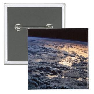 La terre vue d'un satellite badge
