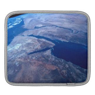 La terre vue d'un satellite housses iPad