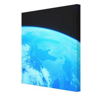 La terre vue d'un satellite toiles
