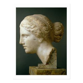 La tête de Kauffmann, romaine (marbre) Cartes Postales