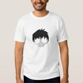 La tête du garçon de la mort d'Emo T-shirts