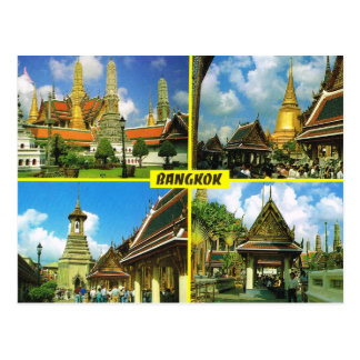La Thaïlande, Bangkok Multiview Cartes Postales