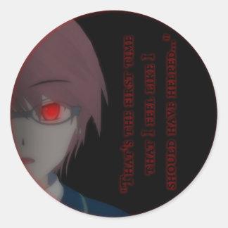 La théorie de diable - autocollant de Hayato