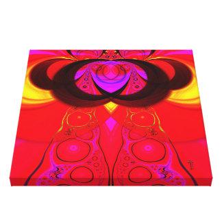 La toile enveloppée de la variation 1 d'Eremite Toiles