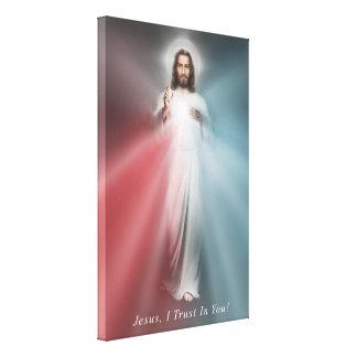 La toile enveloppée par 24x36 divine d'image de
