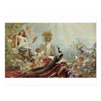 La toilette de Vénus par Konstantin Makovsky Cartes Postales