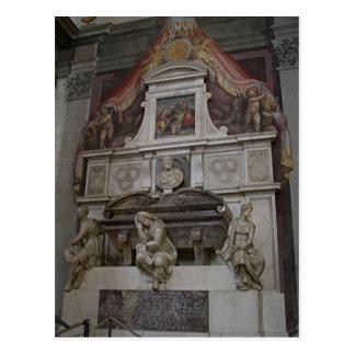 La tombe de Michaël Angelo de description en Carte Postale