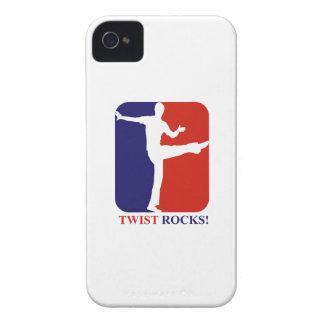 La torsion bascule des conceptions de roches coque iPhone 4 Case-Mate