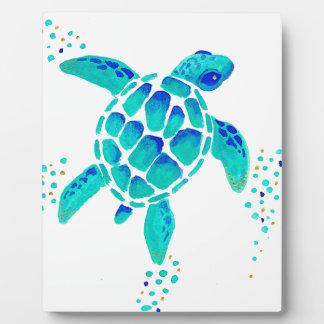 La tortue de Neptune Plaque Photo