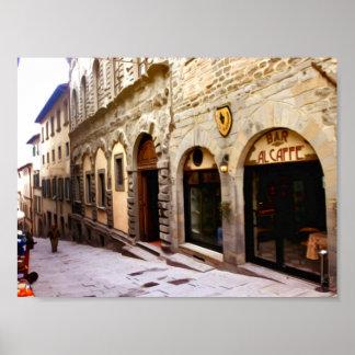 La Toscane. L'Italie. Cortona Posters