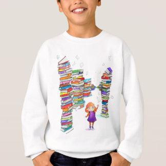 La tour de livre badine la chemise sweatshirt