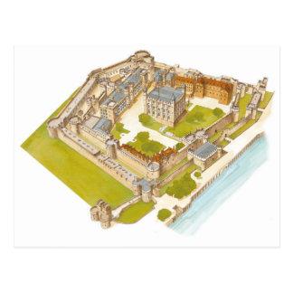 La tour de Londres. Londres Cartes Postales