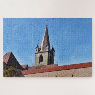 La tour et le ciel bleu puzzle
