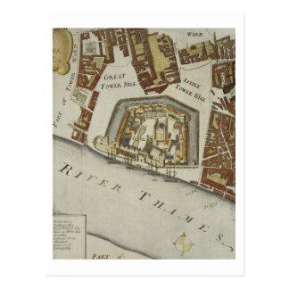 La tour et le St Catherine, détail de la tour Cartes Postales