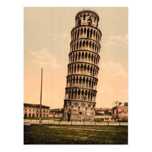 La tour penchée de Pise, Toscane, Italie Carte Postale