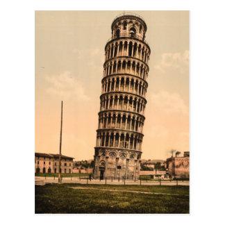 La tour penchée de Pise, Toscane, Italie Cartes Postales