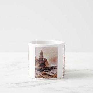La tour tombe chez Yellowstone - 1876 Tasse Expresso